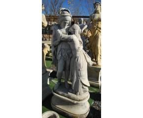 Estatua enamorados